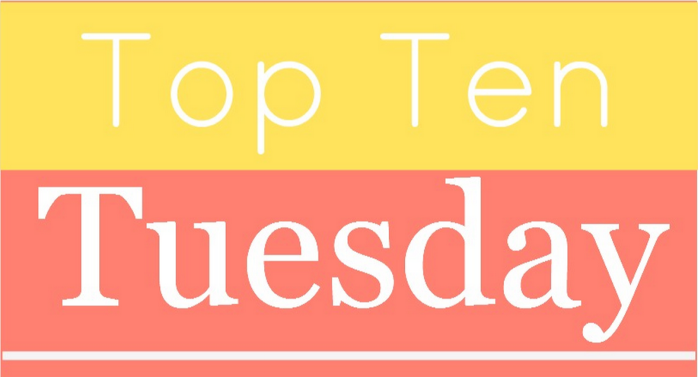 Top Ten Tuesday: Books of 2015 (1/6)