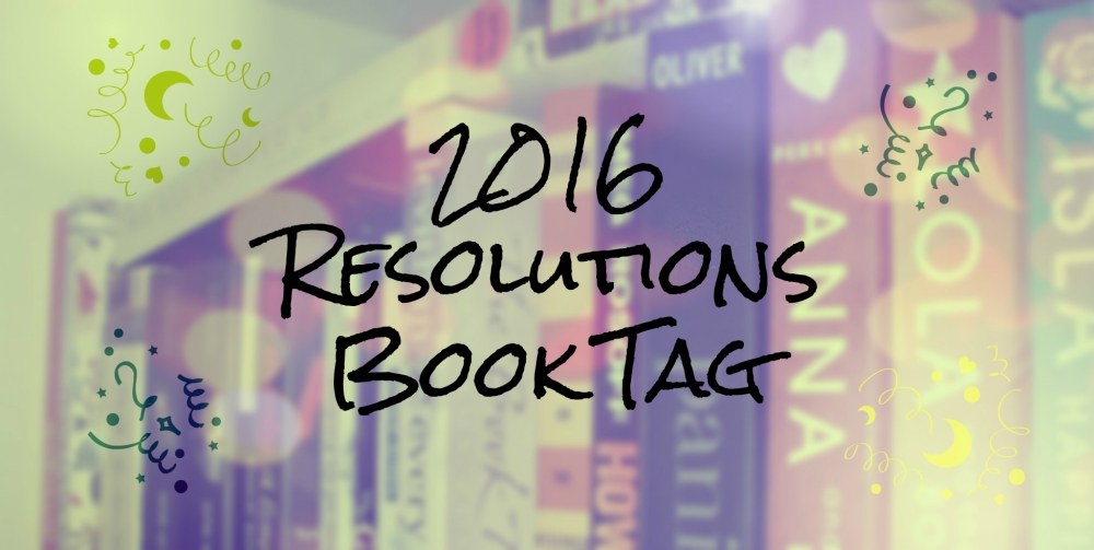 2016 Resolutions Book Tag