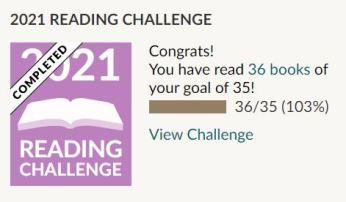 Goodreads Reading Challenge 2021