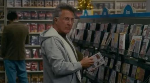 Dustin Hoffman in The Holiday